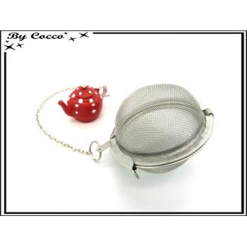 Boule à thé - Théière - Rouge