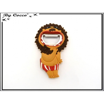 Décapsuleur animaux - Lion