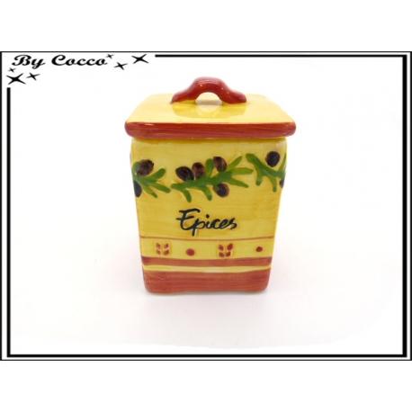 Pot à épices - Tons provencal