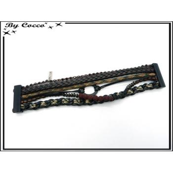 Bracelet - Homme - Multi rangs - Modèle 4