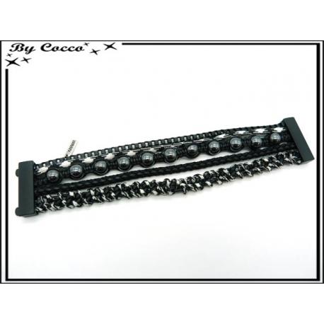 Bracelet - Homme - Multi rangs - Modèle 3
