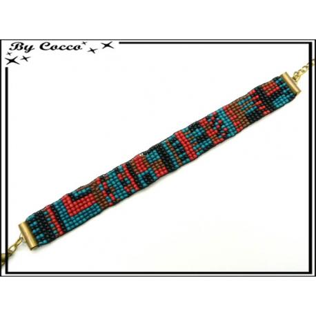 Bracelet - Type brésilien - Multicolor