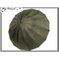 Parapluie - Canne - Grand modèle - Noir