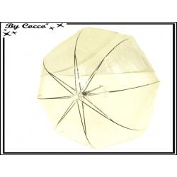 Parapluie - Canne - Cloche - Transparent