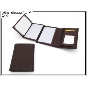 Portefeuille - Petit modèle - Chocolat