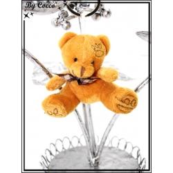 Bijoux de sacs - Petit ours - Camel