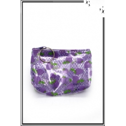Petit porte-monnaie - Violet