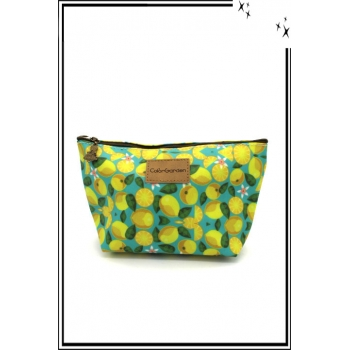 Pochette - Citrons - Fond clair
