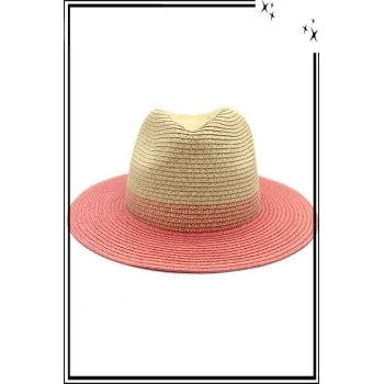 Grand chapeau - Rose