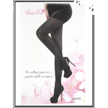 Collants fins - Pieds de poules