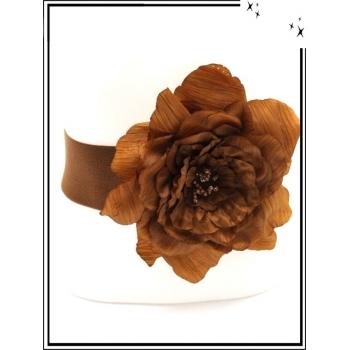 Ceinture - Elastique - Fleur