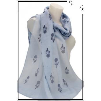 Foulard - Attrape-rêves - Bleu ciel
