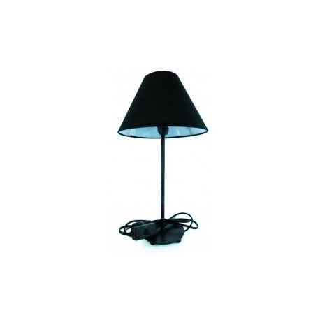 lampe poser noire cocconelle. Black Bedroom Furniture Sets. Home Design Ideas