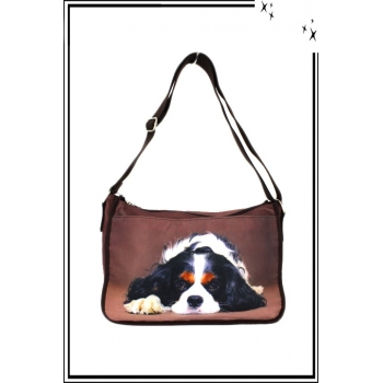Sac à main - Animaux - Besace - Cavalier King Charles