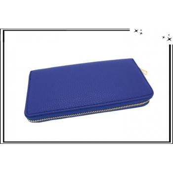 Porte-monnaie - Multi-compartiments - Bleu roi