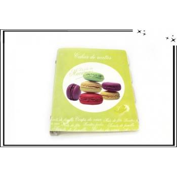 Cahier de recettes - Macarons - Jaune