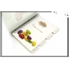Cahier de recettes - Macarons - Beige