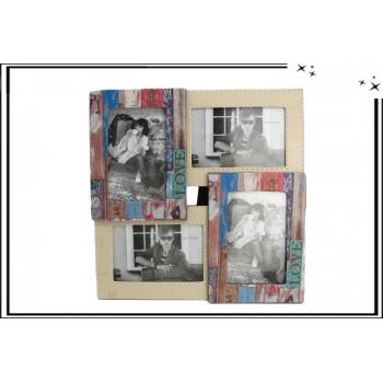 Cadre 4 photos - Multicolor