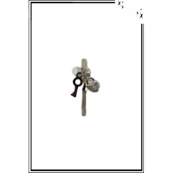 Bracelet minimaliste - Coeur secret - Argenté