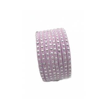 Bracelet - Double tour - Etoiles - Parme