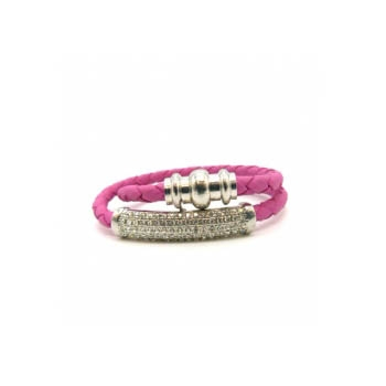 Bracelet - Multi-rangs - Strass - Rushia
