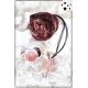 Cocco Box - Bijoux fantaisie et foulard - Bordeaux et rose gold