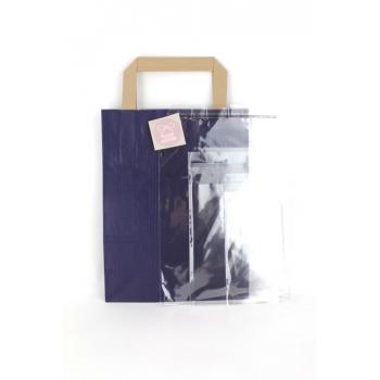 Cocco Box - Bijoux fantaisie et foulard - Bleu nuit