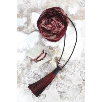 Cocco Box - Bijoux fantaisie et foulard - Bordeaux