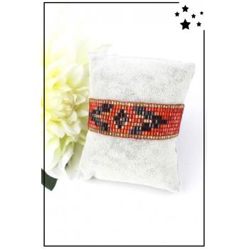 Bracelet - Perles de rocaille - Rouge
