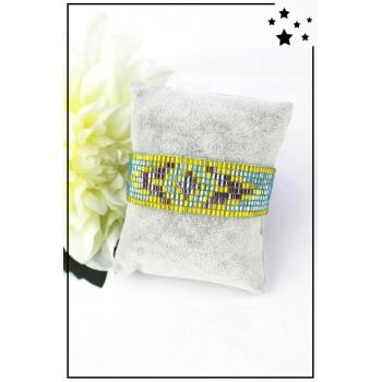 Bracelet - Perles de rocaille - Turquoise