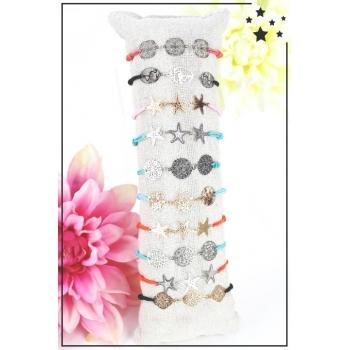 Bracelets - 3 petits filigranes - Coloris variés