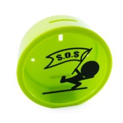 Tirelire Circulaire Vert