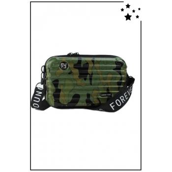 Petit sac bandoulière - Mini valise rigide - Camouflage