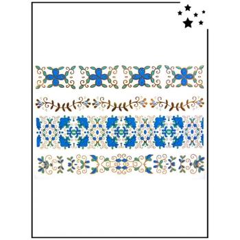 Tattoo Bijoux - Motif Dream Flowers 2 - Tatouage éphémère