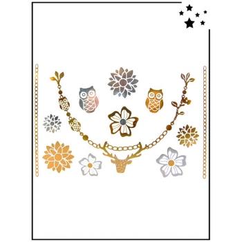 Tattoo Bijoux - Motif Fancy Holiday 4 - Tatouage éphémère