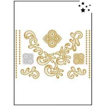 Tattoo Bijoux - Motif Lace 7 - Tatouage éphémère