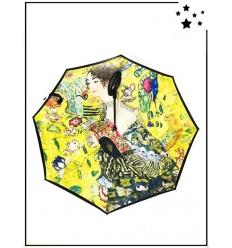 Parapluie inversé - Klimt - Dame à l'éventail
