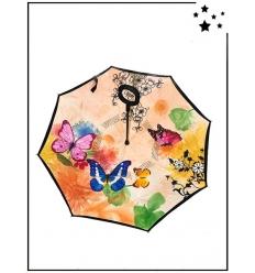 Parapluie inversé - Papillons - Multi