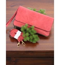 Porte-monnaie et pochette - Double compartiment - Rouge
