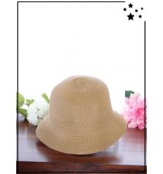 Chapeau - Cloche - Paille