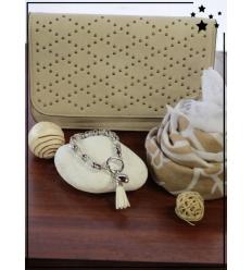 Cocco Box - Pochette/Sac bandoulière, bracelet et foulard