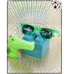 Lunette de soleil et pistolet à eau crocodile - CE - Vert