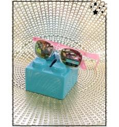 Lunette de soleil enfant - CE - UV400 - Rose