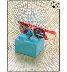 Lunette de soleil enfant - CE - UV400 - Rouge