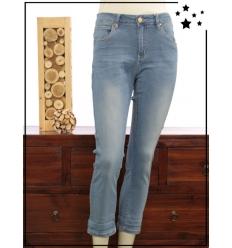 M au XL - Jean clair - Pantalon 7/8 - B745 - Zac & Zoé